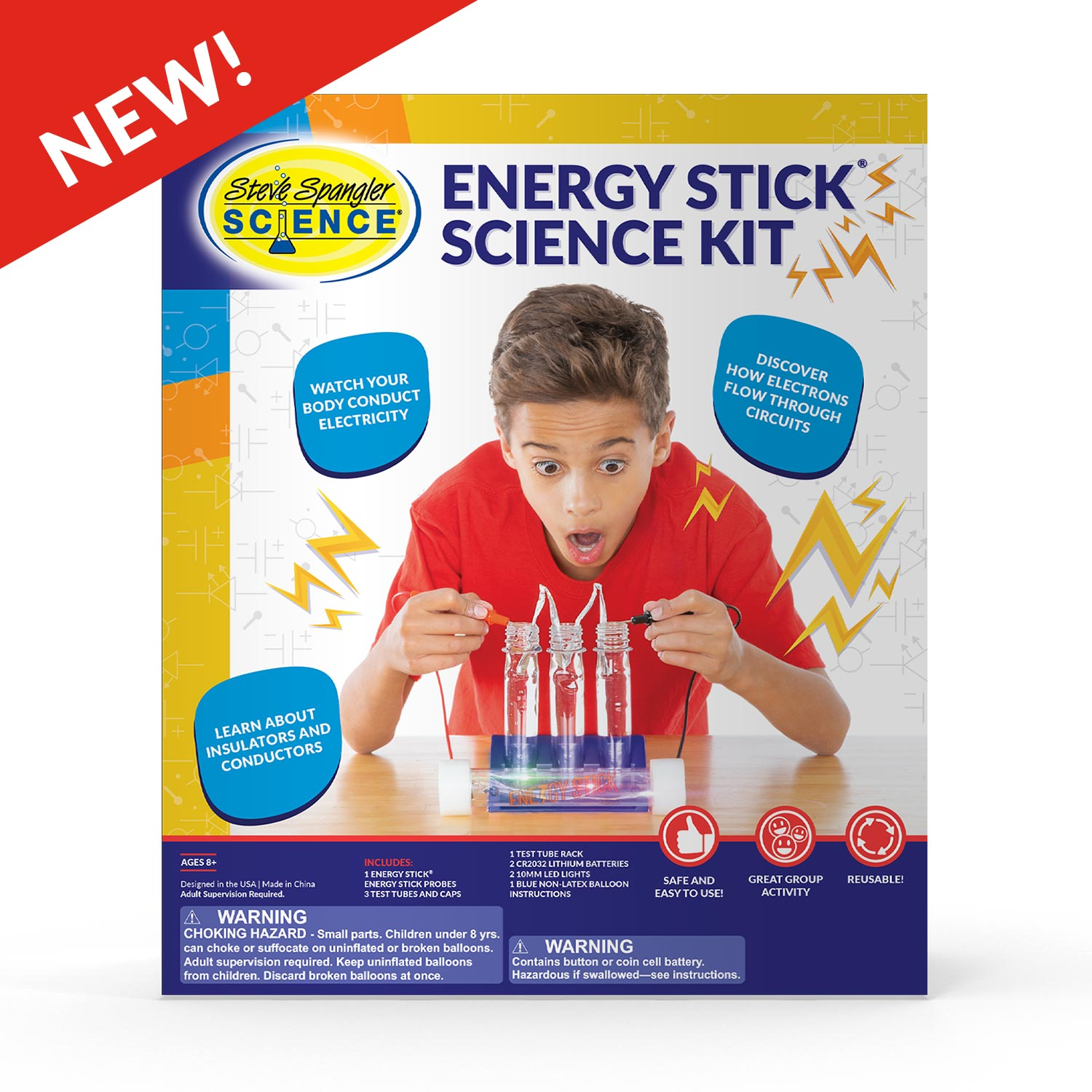 Energy Stick™ Science Set