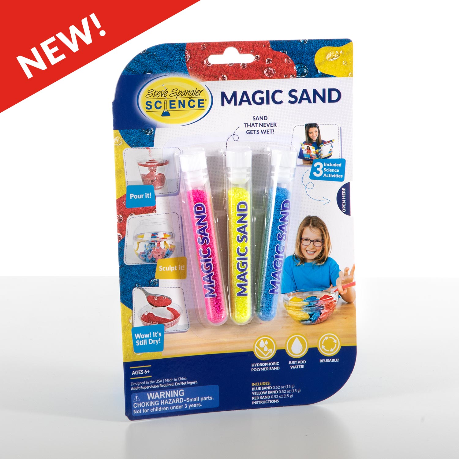 Magic Sand Test Tube