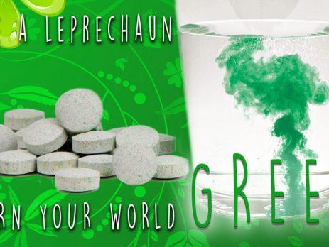 Leprechauns Strike – Green Water