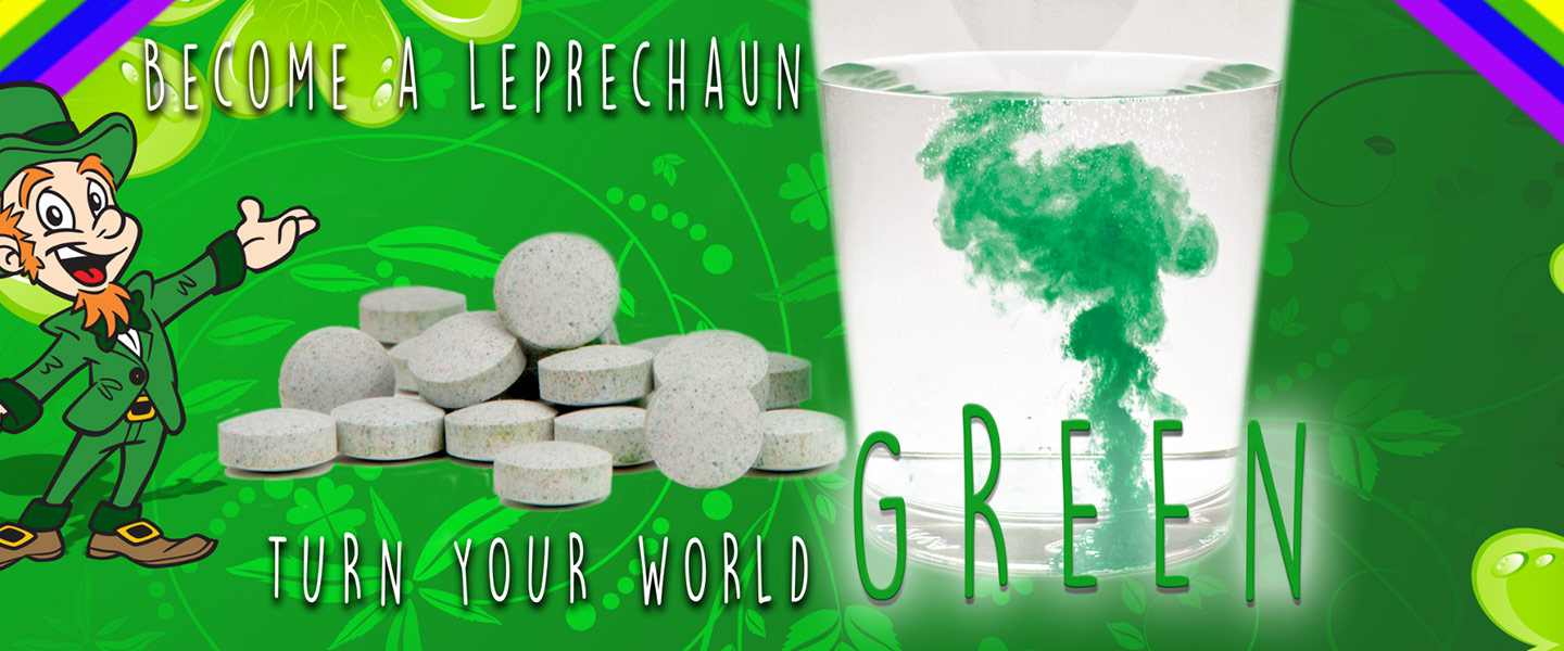 Leprechauns Strike - Green Water