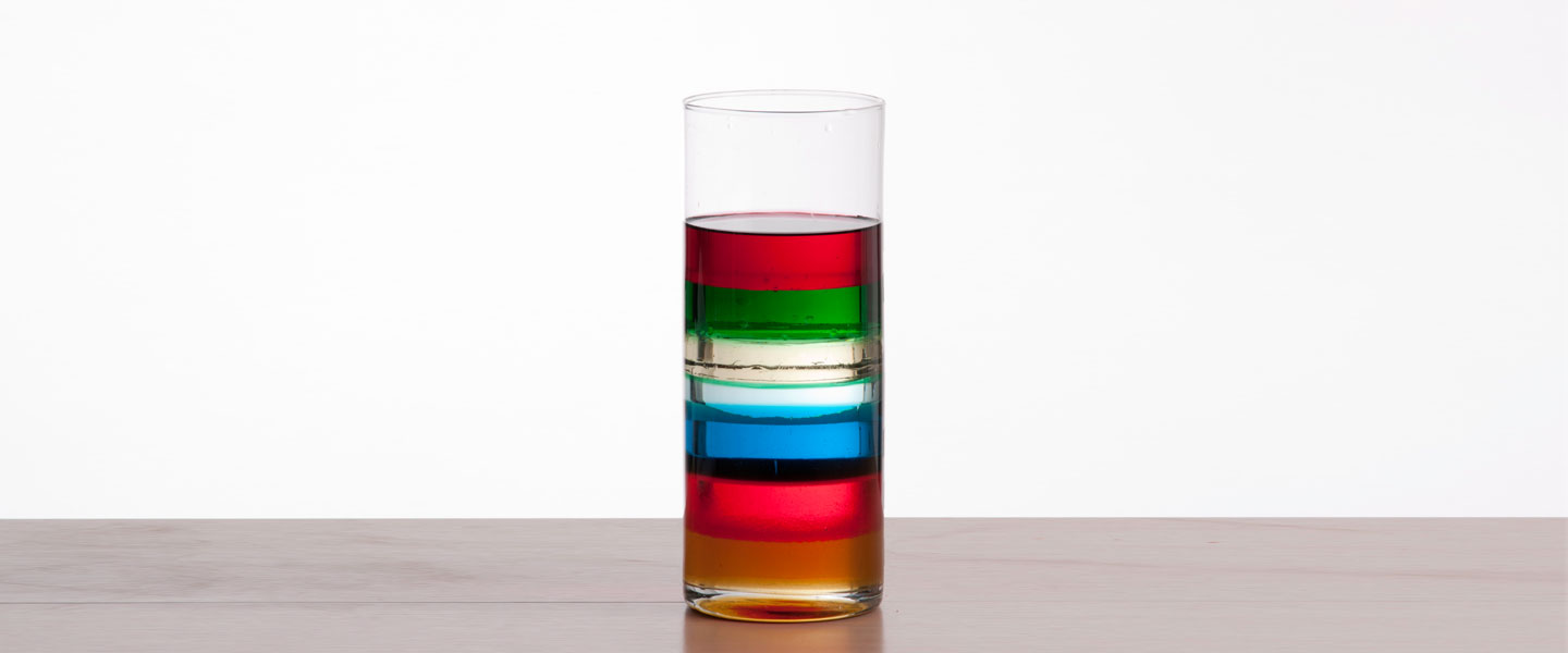 Seven Layer Density Column The Lab