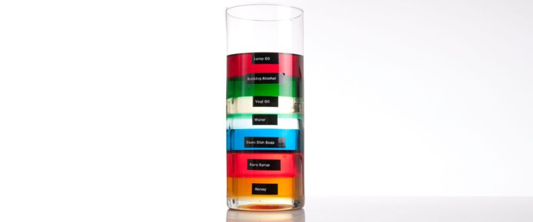 SevenLayer Density Column The Lab – Density Column Worksheet