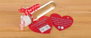 Valentine's Test Tube