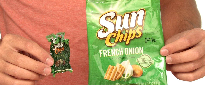 Shrinking Chip Bag