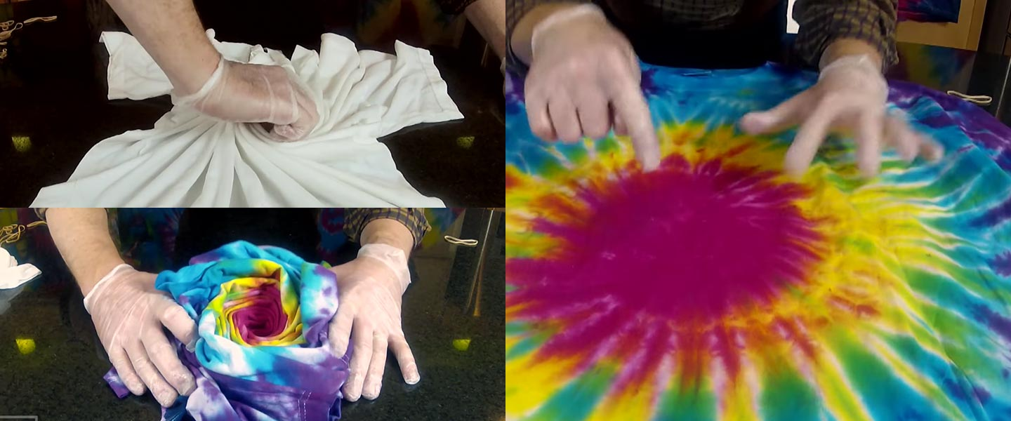 The Science of Tie-Dye | Science Experiments | Steve Spangler Science