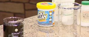 Science of Cleaning Products - Oxyclean