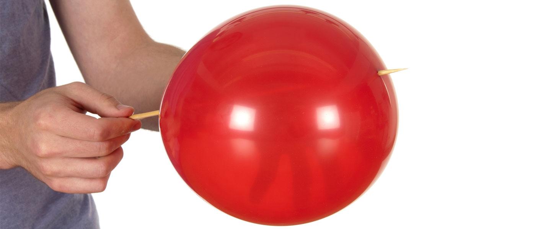 Balloon Skewer Science Experiments Steve Spangler Science