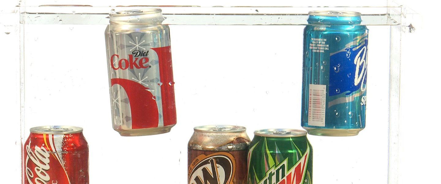 Sinking Soda Surprise | Experiments | Steve Spangler Science