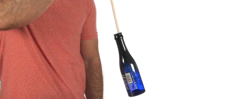 floating bottle trick science experiments steve