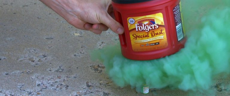 Smoke Bomb Smoke Ring Launcher - SICK Science | Experiments