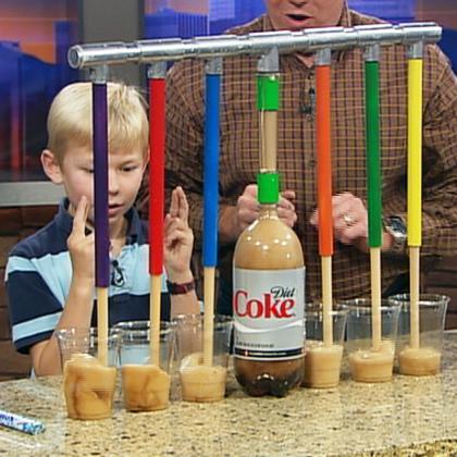 Mentos Super Soda Dispenser 3000 Science Experiments