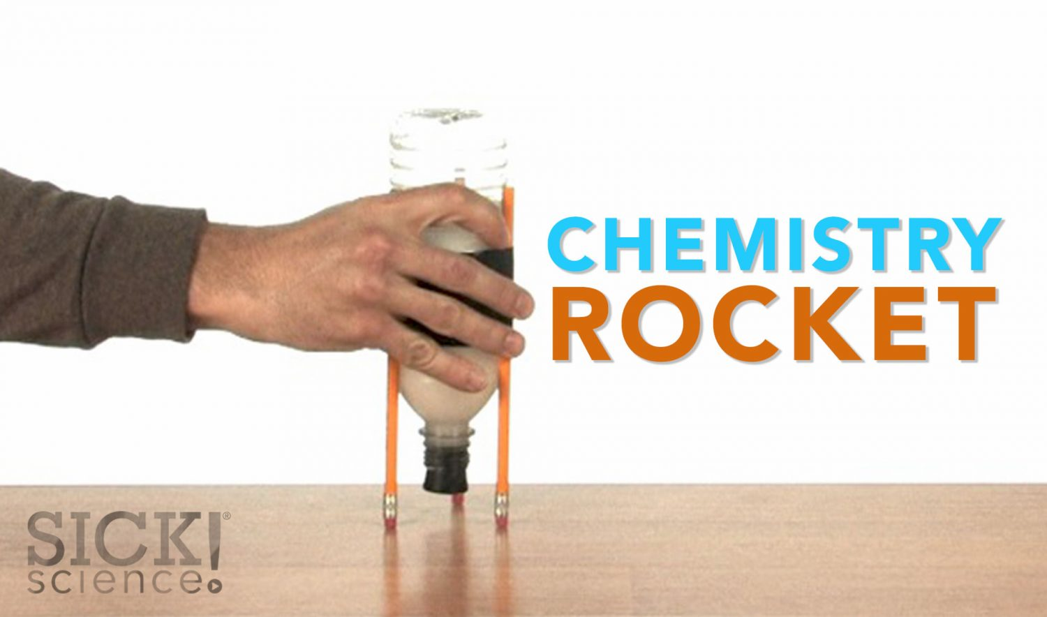 chemistry rocket experiment Find out how to make a bottle rocket and learn  that was an unpleasant chemical burn  we can see this on a bigger scale in this water rocket experiment.