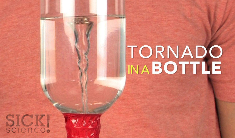 Tornado In A Bottle Sick Science 077 Science