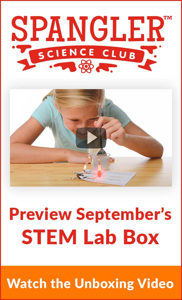 Spangler Science Club - Preview September's STEM Lab Box - Watch the Unboxing Video