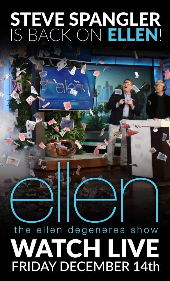 Steve on Ellen 2018