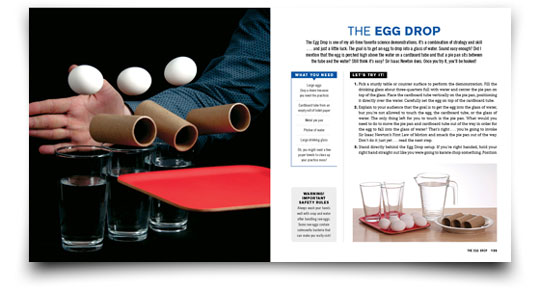 The Egg Drop Science Experiment from Naked Eggs and Flying Potatoes by Steve Spangler