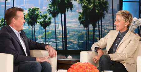 Steve Spangler Appears on the Ellen DeGeneres Show May 2015