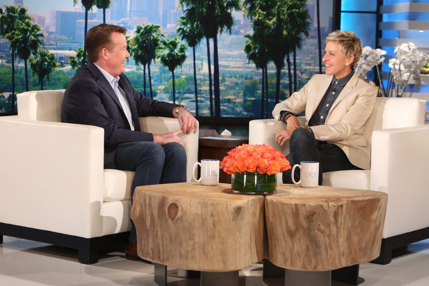 Steve on The Couch at The Ellen Show