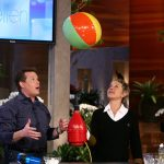 Steve Floating a Beach Ball on The Ellen Show