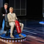 Steve Pushing Ellen on a Hovercraft on The Ellen Show