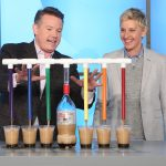 Steve Doing Soda Dispenser 3000 on The Ellen Show
