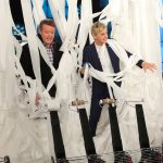 Steve Launching Toilet Paper on The Ellen Show