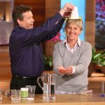 Steve Performing Water Gel on The Ellen Show