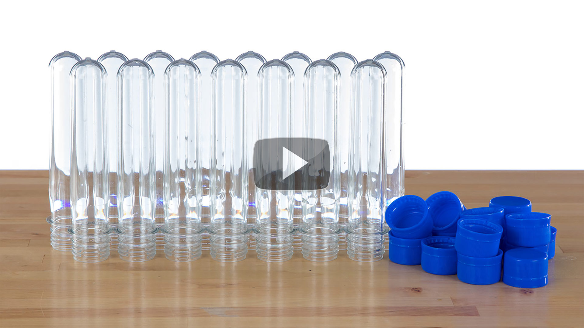 Baby Soda Bottles - World's Best Plastic test Tubes