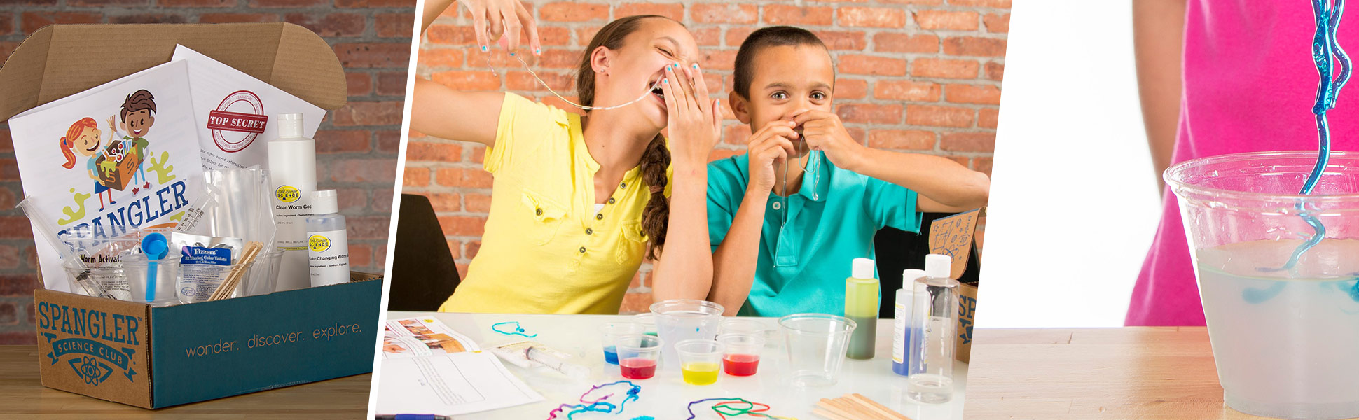 STEM Science Kit - Gooey Worm Wonders