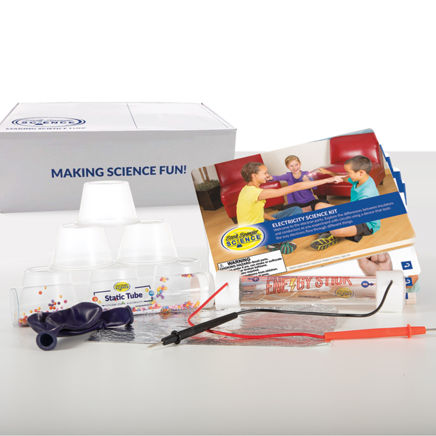 STEM Science Kit – Electricity Science Kit