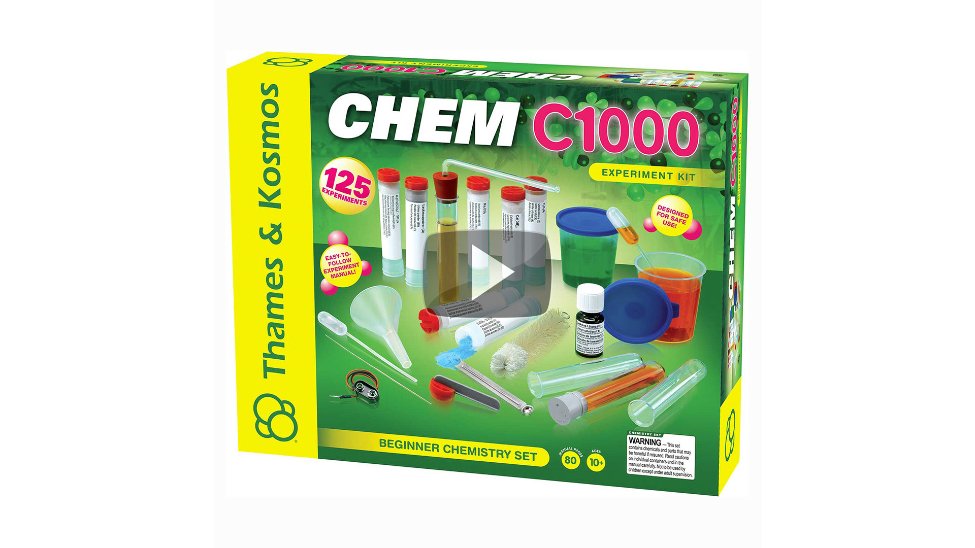 Chemistry Kit- CHEM C1000