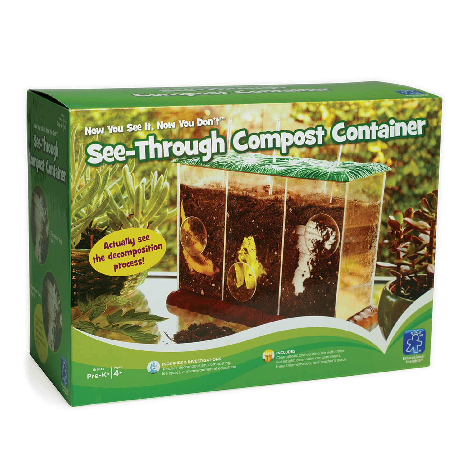 See Through Compost Kit