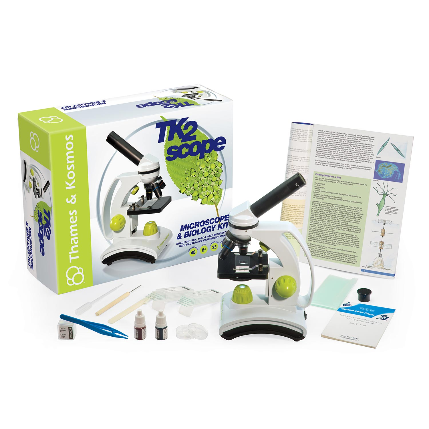 TK2 Microscope and Biology Kit