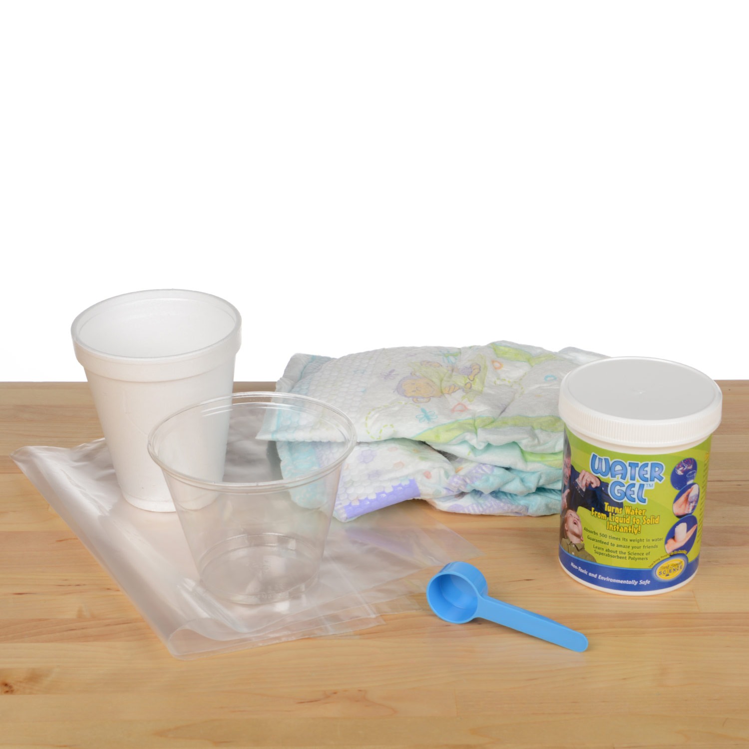 Baby Diaper Science Fair Kit
