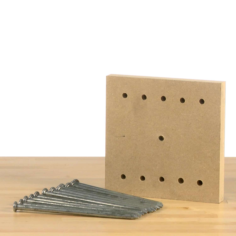 Balancing Nail Puzzle