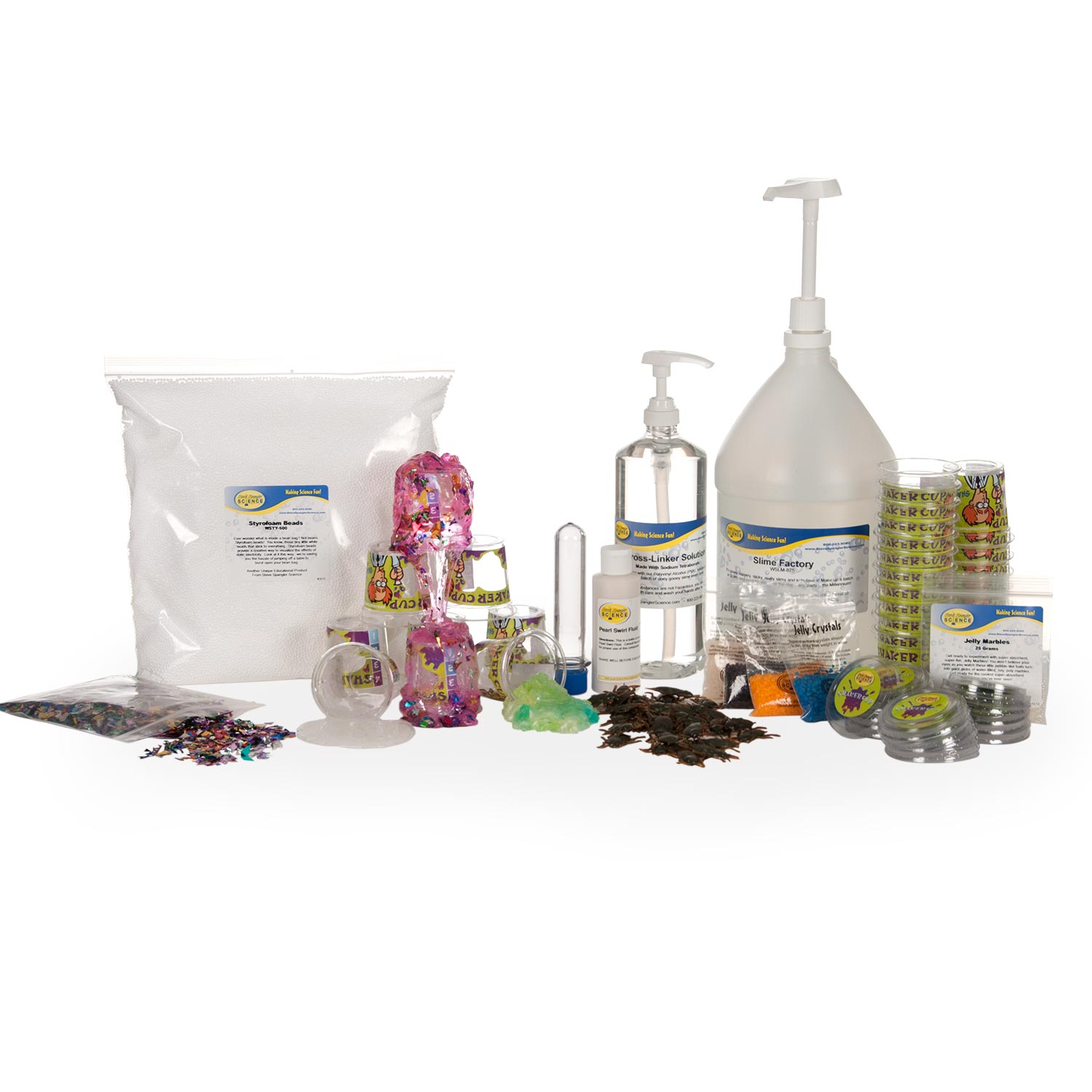 Slime Factory - One Gallon Party Kit