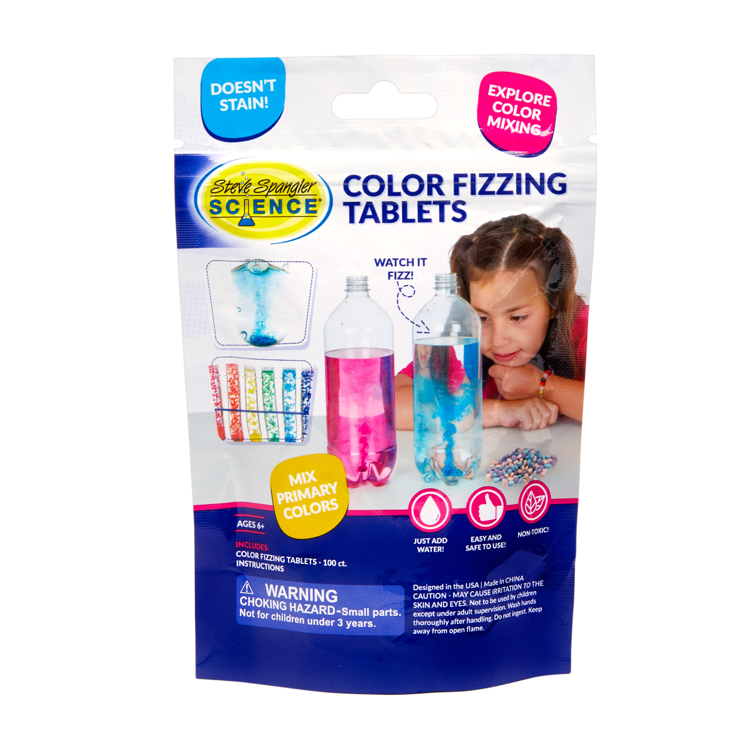 Color Fizzing Tablets