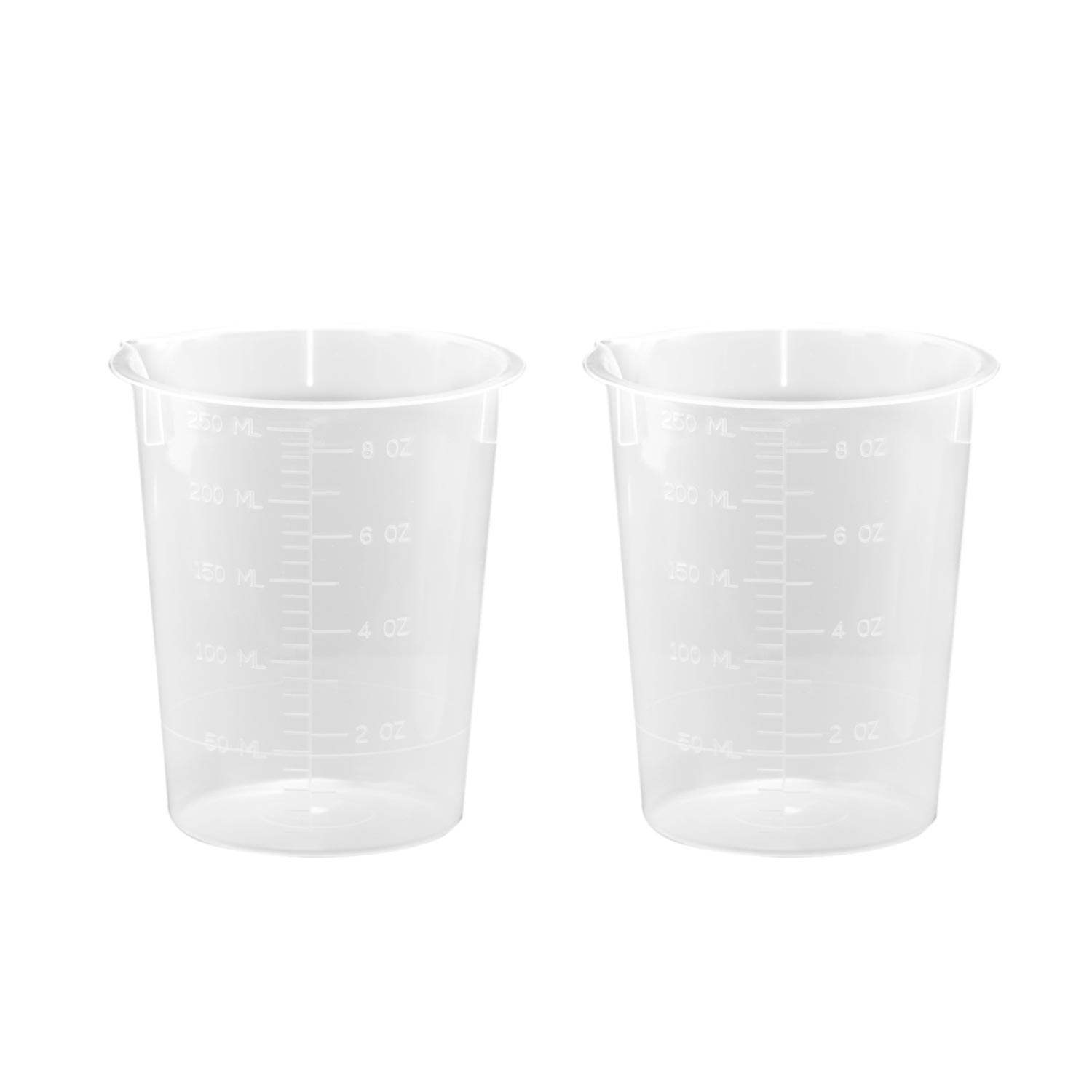 250 mL Plastic Beaker (2 Pack)