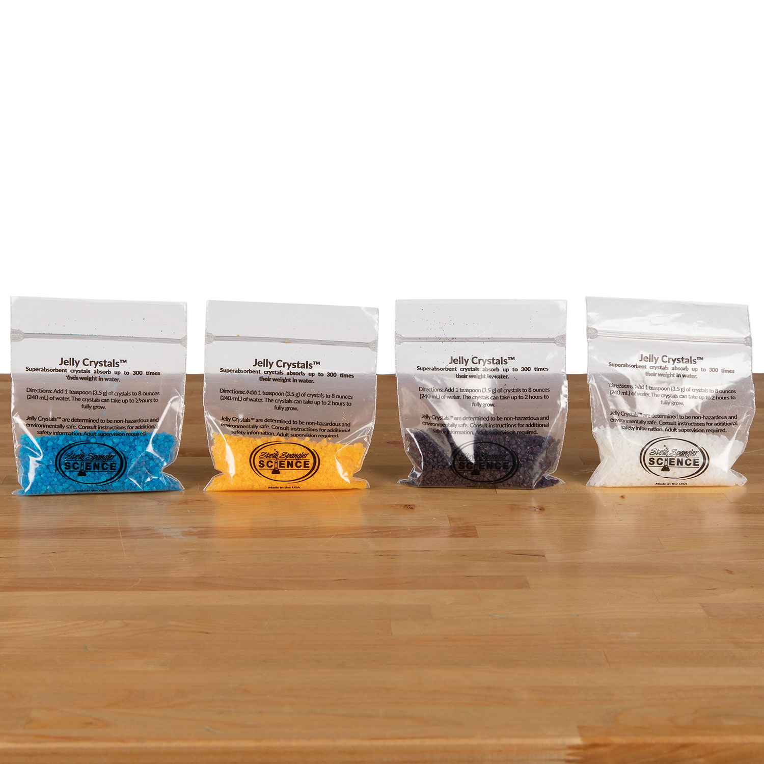 Water Jelly Crystals - 40 g (1.4 oz) 4 pack