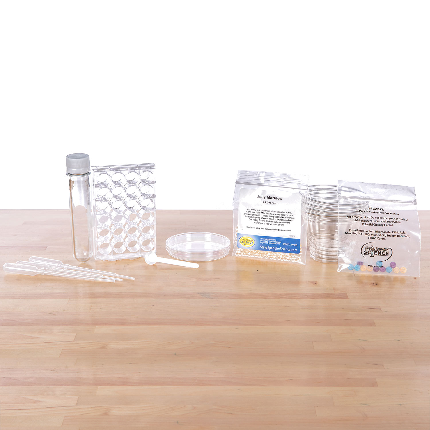 Jelly Marbles – Clear Spheres Kit