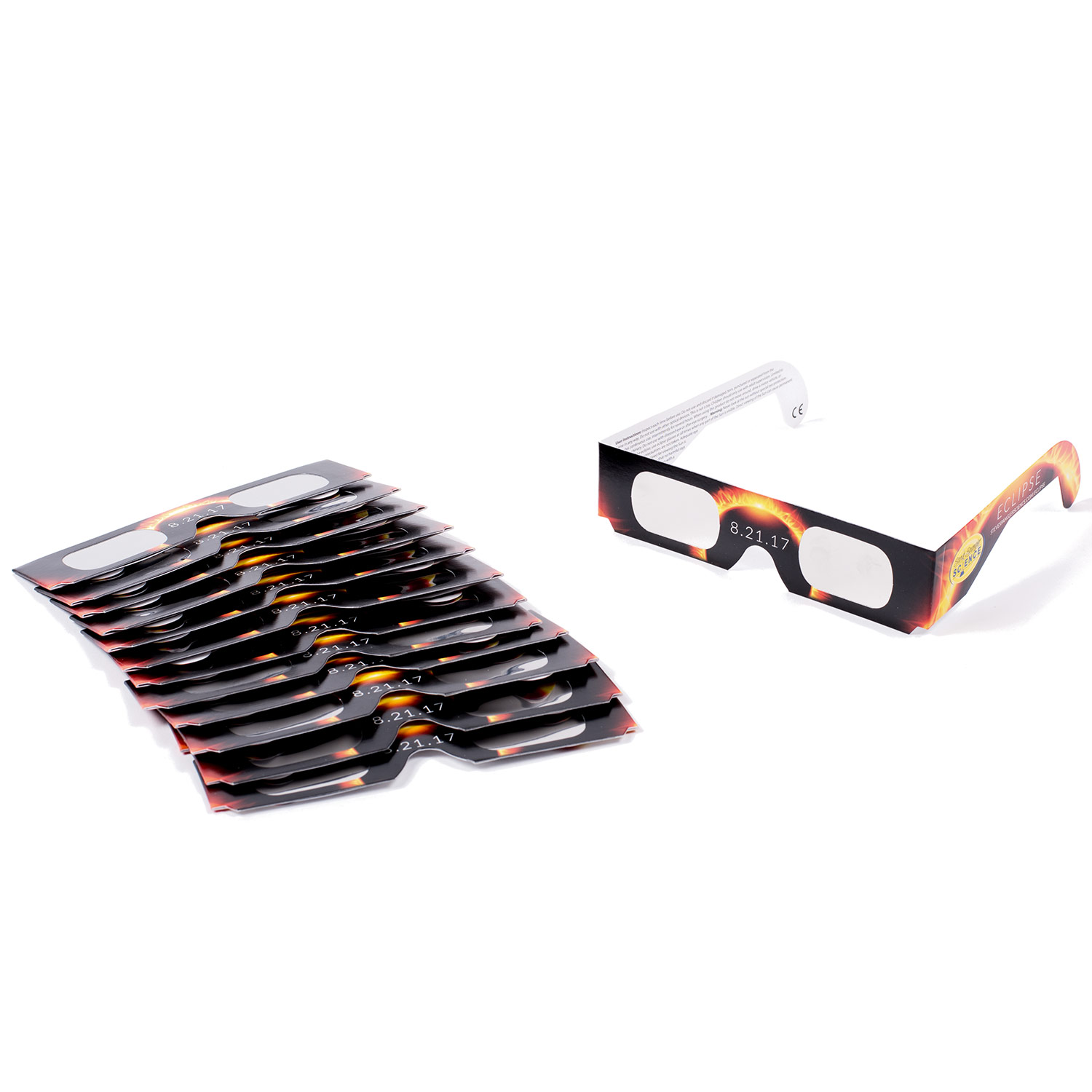 Solar Eclipse Glasses - 15 Pack