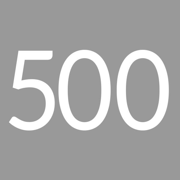 Quantity 500