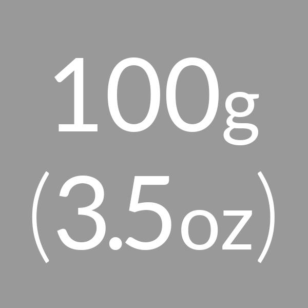 100g (3.5oz)