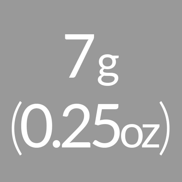 7g (0.25oz)