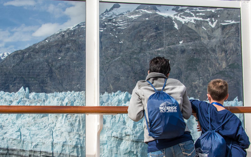 Science at Sea with Steve Spangler in Alaska