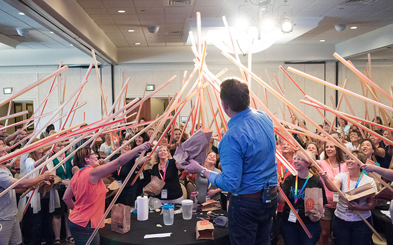 Science in the Rockies Teacher Workshop with Steve Spangler