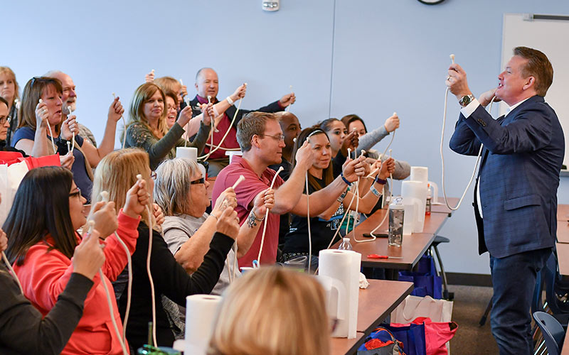 Steve Spangler Teacher Workshop