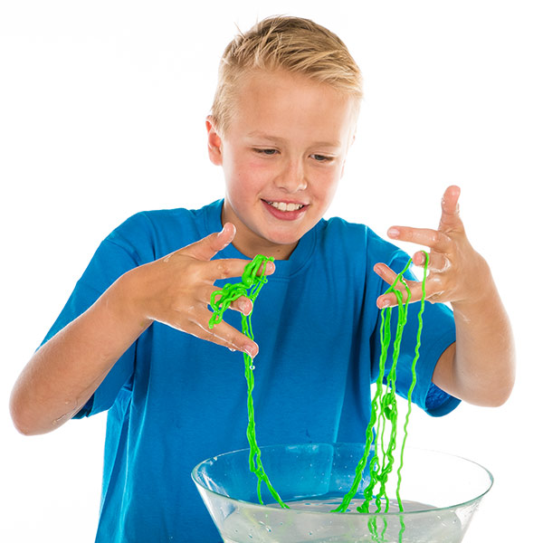 Rainbow String Slime