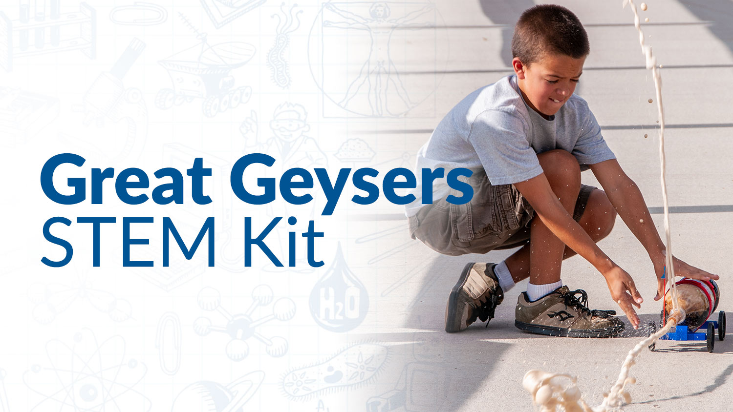Great Geysers STEM Kit