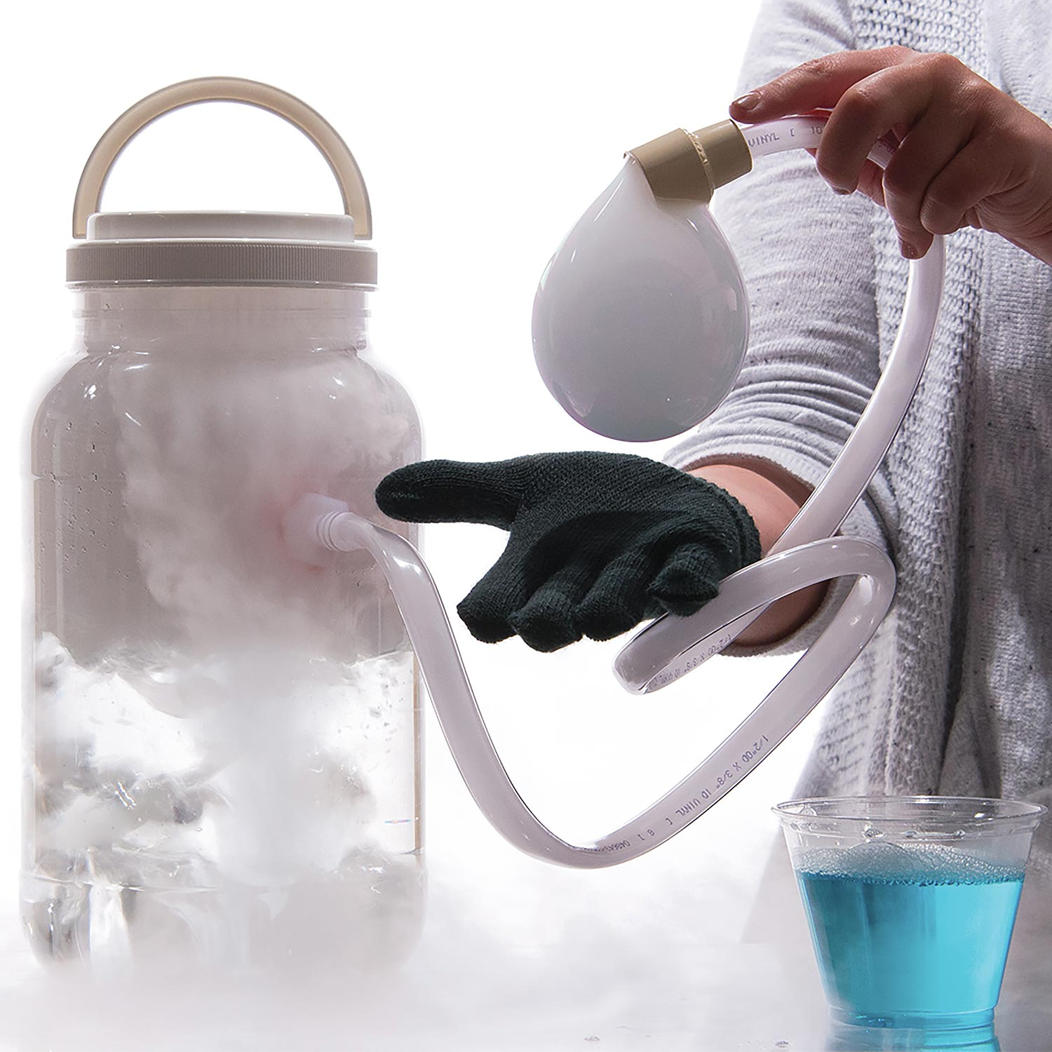 Boo Bubbles - Dry Ice Smoke Filled Bubbles - Steve Spangler Science